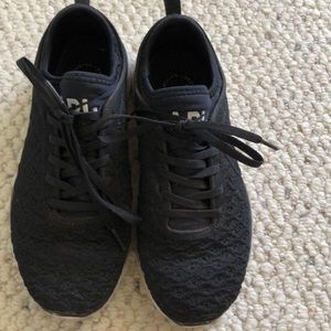 APL black sneaker worn twice